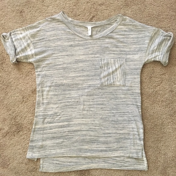 Pinkblush Tops - Comfy cute! Boat neck with slight rolled sleeve.